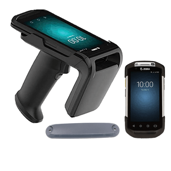 RFID tag and handheld reader